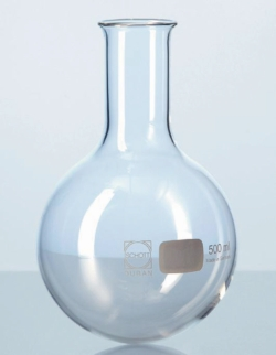 Round bottom flasks, DURAN®, narrow neck